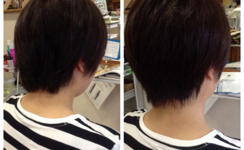 Before&After /ショートヘア